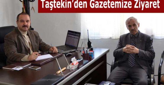 Mehmet Taştekin'den Gazetemize Ziyaret