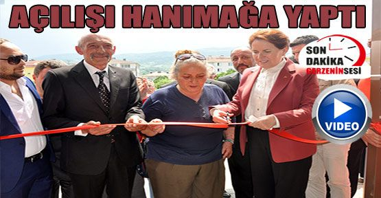 Meral Akşener Gerze'de