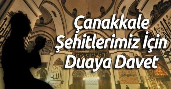 Merkez Yeni Camide Şehitlerimiz İçin Program