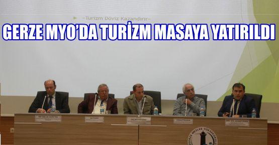 """Meslek Yüksek Okulunda """"Turizm ve Sürdürülebilir Çevre İlişkisi""""  Konulu Panel Düzenlendi"""