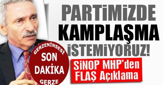 Mhp İl Başkanı Ceyhan Demir; Partimizde Kamplaşma İstemiyoruz!