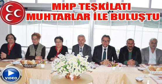 MHP teşkilatı muhtarlar ile kahvaltıda buluştu