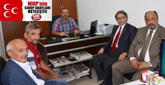 MHP'nin Sinop Adayları Belli Oldu