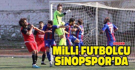 Milli Futbolcu Sinopspor'da