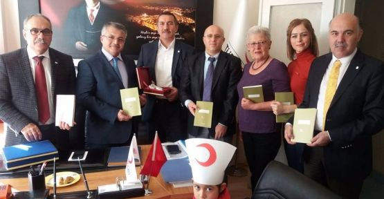 Müftü Erkan'dan Kızılay'a İadeyi Ziyaret