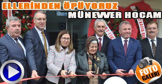 Münevver Arslan Kütüphanesi Açıldı