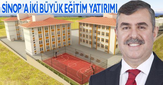 NAZIM MAVİŞ; SİNOP'A İKİ BÜYÜK EĞİTİM YATIRIMI HAYIRLI OLSUN