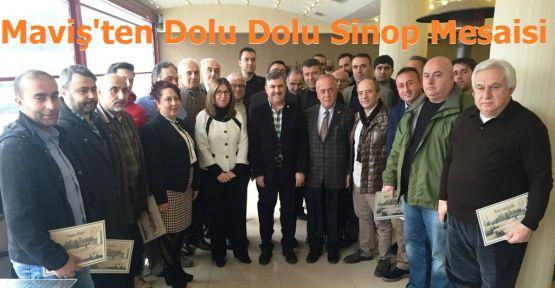 NAZIM MAVİŞ'İN DOLU DOLU SİNOP MESAİSİ