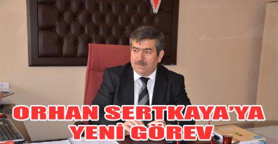 Orhan Sertkaya'ya Yeni Görev