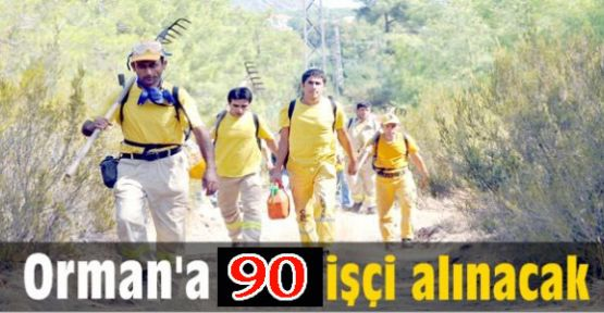 Orman İşletme Müdürlüğü 90 İşçi Alacak