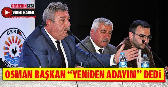 """Osman Belovacıklı """"Yeniden Adayım"""" Dedi"""