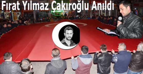 PKK'lılar Tarafından Katledilen Fırat Yılmaz Çakıroğlu Gerze'de Anıldı