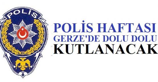 Polis Haftası Gerze'de Dolu Dolu Kutlanacak