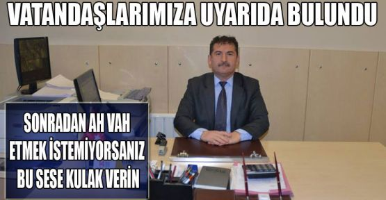 PTT Müdürü Uyardı