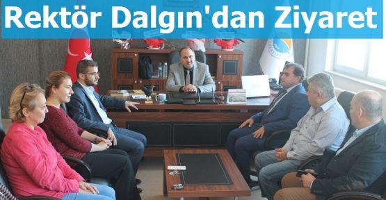 Rektör Dalgın'dan Gerze MYO'ya Ziyaret