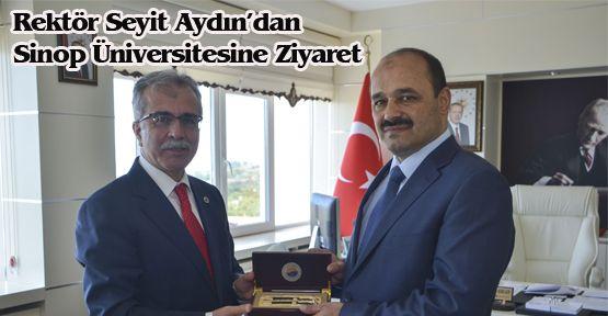 Rektör Seyit Aydın'dan Sinop Üniversitesine Ziyaret