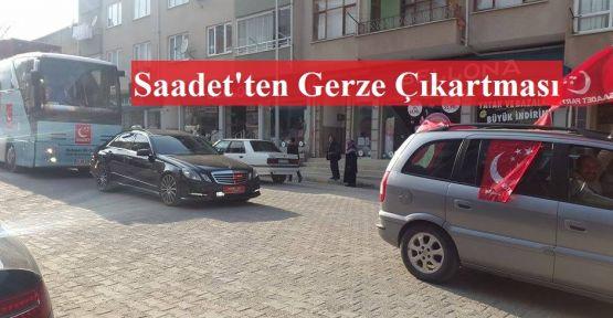 Saadet'ten Gerze'de Gövde Gösterisi
