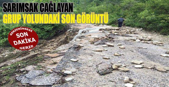 Sağanak Yağmur Sonrasında Yollar Büyük Zarar Gördü