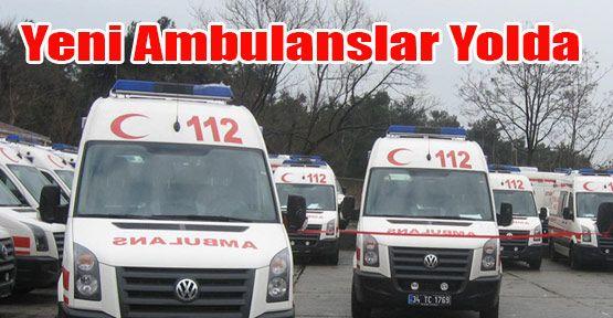 Sağlık Bakanlığından Sinop'a 8 yeni ambulans geliyor