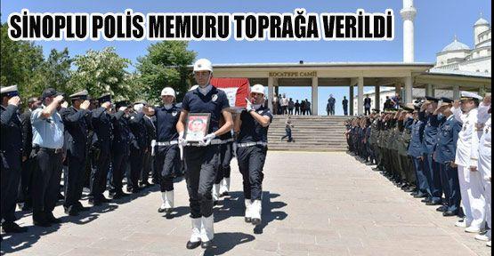 Şehit Polis Ankara'da Toprağa Verildi
