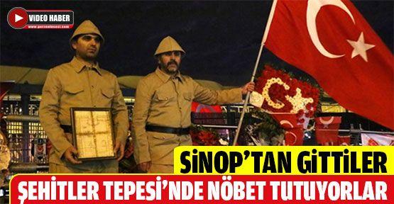 Şehitler Tepesi'nin Sinoplu Nöbetçileri