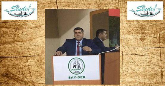 SİNDEF 1. Bölge başkanlığına Hüseyin Koç seçildi