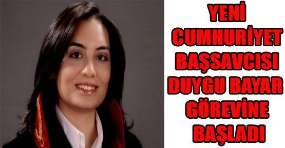 Sinop Cumhuriyet Başsavcısı Duygu Bayar Göreve Başladı