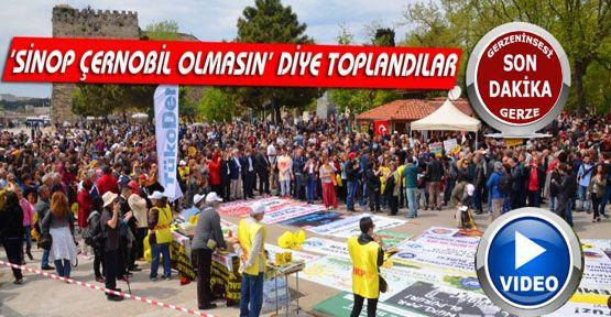Sinop Nükleer Santral İstemiyor Mitingi