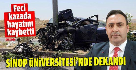 Sinop Üniversitesi Su Ürünleri Dekanı Hayatını Kaybetti