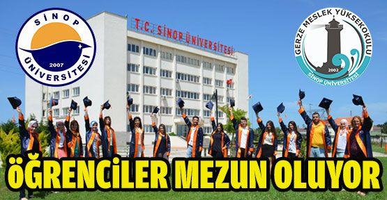 Sinop Üniversitesi'nde Mezuniyet Töreni Heyecanı