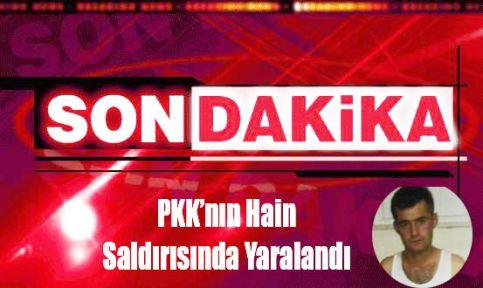 Sinop'lu Askerimiz Hain Saldırıda Yaralandı