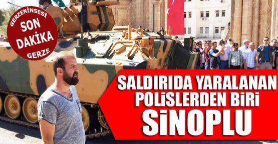 Sinoplu Polis Memuru Yaralandı