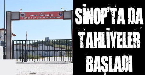 Sinop'ta Tahliyeler Başladı