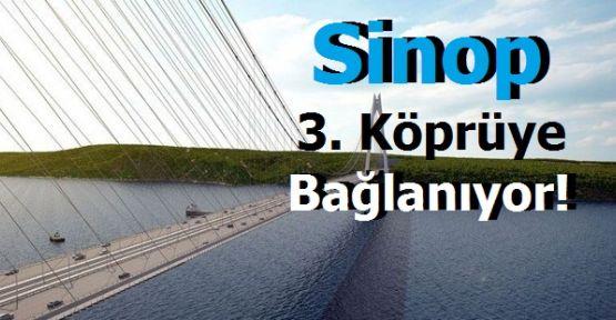 Sinop'tan 3 köprüye 4.5 milyarlık yatırım