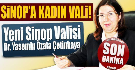 Sinop'un ilk kadın valisi