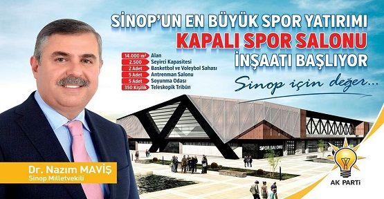 Spor Salonunun İnşaatına Başlanıyor