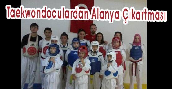 Taekwondocular'dan Alanya Çıkartması