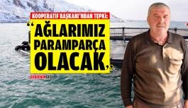 Kooperatif Başkanı da Balık Tesislerine Karşı Çıktı