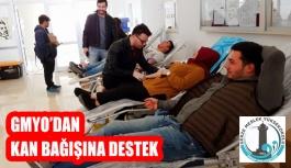 GMYO Öğrencilerinden Kan Bağışına Büyük Destek