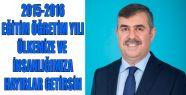 2015-2016 EĞİTİM VE ÖĞRETİM YILI ÜLKEMİZE...