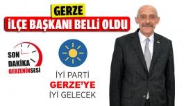 İyi Parti Gerze İlçe Başkanı Belli...