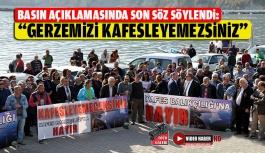 Kafes Balıkçılığa Karşı Basın Açıklaması Yapıldı