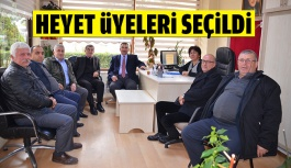 İdris Öztürk ve Ramis Kalay Mütevelli...