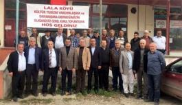 Lala köyünde genel kurul heyecanı