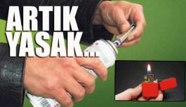 Çocuklara çakmak ve çakmak gazı satışı yasaklandı