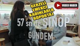 57 Saniye'de Gerze'de Kadınlar Günü