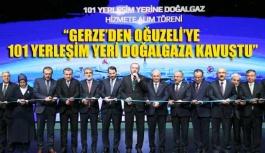 """""""Sinop Gerze dahil 101 yerleşim yeri..."""