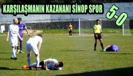Gerze Belediye Spor Sinop'ta Tutunamadı