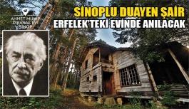 Şair Ahmet Muhip Dıranas Erfelek'teki köyünde anılacak
