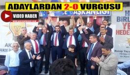 Ak Parti Adayları Gerze'ye Geldi